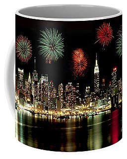 New York City Fourth Of July Coffee Mug