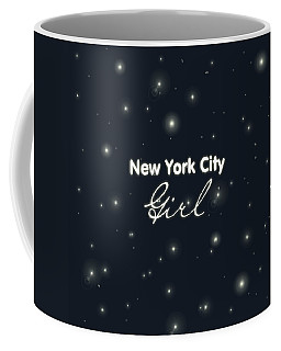Girl Digital Art Coffee Mugs
