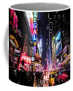 New York City Night Coffee Mug