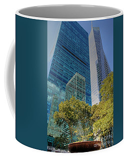 New York City Reflections Coffee Mug by Bob Hislop