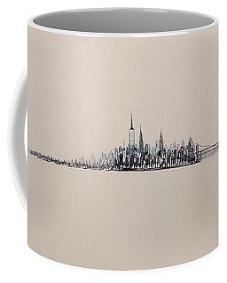 New York City Skyline 15x45 2013 Coffee Mug