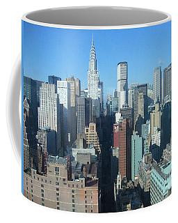 Coffee Mug featuring the photograph New York City Skyline by Dora Sofia Caputo Photographic Art and Design
