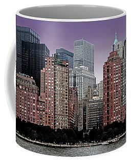 Coffee Mug featuring the photograph New York City Skyline Image by Christopher McKenzie