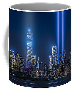 New York City Tribute In Lights Coffee Mug