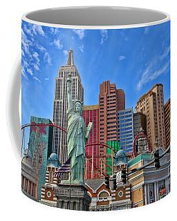 New York In Vegas By Diana Sainz Coffee Mug
