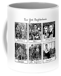 New York Neighborhoods Coffee Mug