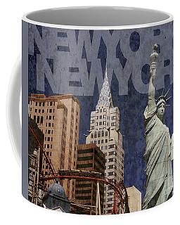 New York New York Las Vegas Coffee Mug