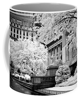 New York Public Library Ir Coffee Mug