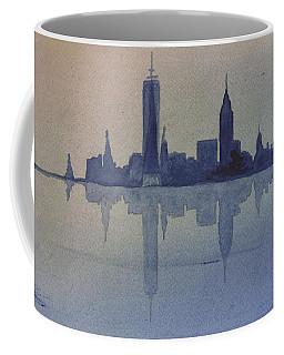 New York Skyline  Coffee Mug by Donna Walsh