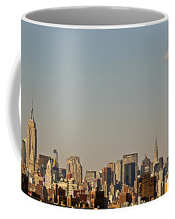 Coffee Mug featuring the photograph New York Skyline by Kerri Farley
