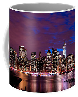 New York Skyline Magic Hour-- From Brooklyn Heights Promenade Coffee Mug