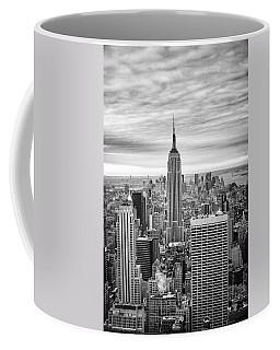 Black And White Photo Of New York Skyline Coffee Mug