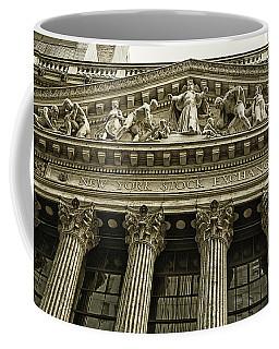 New York Stock Exchange Coffee Mug