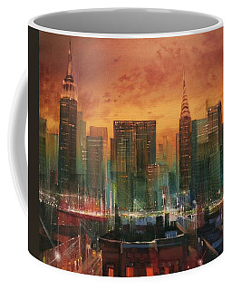 City Scene Coffee Mugs