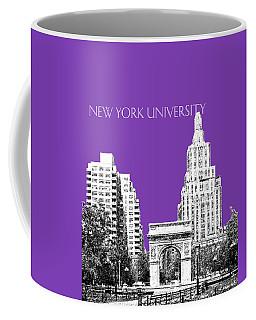 New York University - Washington Square Park - Purple Coffee Mug