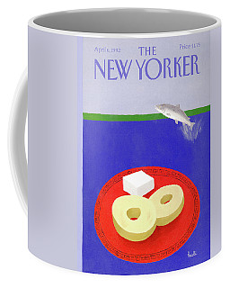 New Yorker April 6th, 1992 Coffee Mug