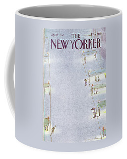 New Yorker April 7th, 1986 Coffee Mug