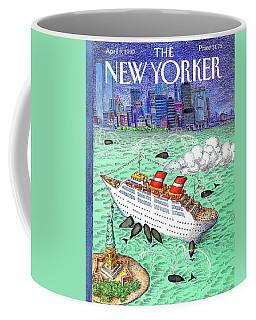 New Yorker April 9th, 1990 Coffee Mug