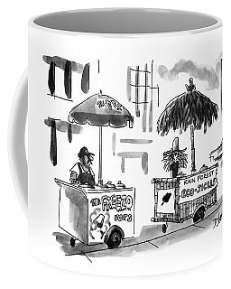 New Yorker August 2nd, 1993 Coffee Mug