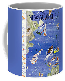 New Yorker August 3 1940 Coffee Mug