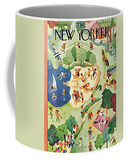 New Yorker August 31st, 1946 Coffee Mug