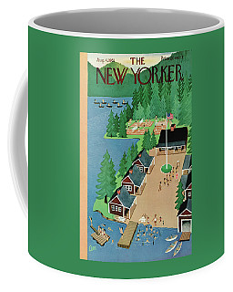 New Yorker August 4th, 1951 Coffee Mug