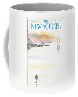 New Yorker August 5th, 1985 Coffee Mug