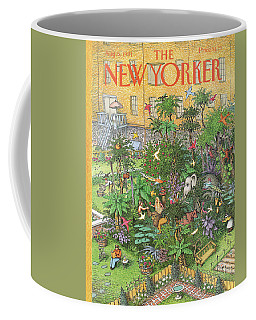 New Yorker August 5th, 1991 Coffee Mug