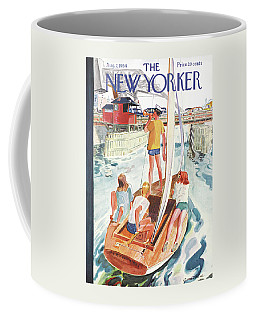 New Yorker August 7th, 1954 Coffee Mug
