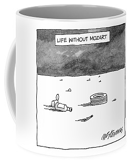 Life Without Mozart Coffee Mug