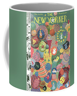 New Yorker December 24th, 1955 Coffee Mug