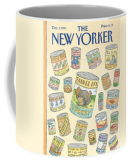 New Yorker December 2nd, 1991 Coffee Mug