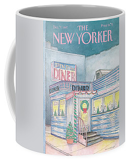 New Yorker December 7th, 1987 Coffee Mug