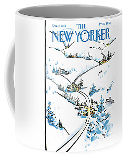 New Yorker December 8th, 1986 Coffee Mug