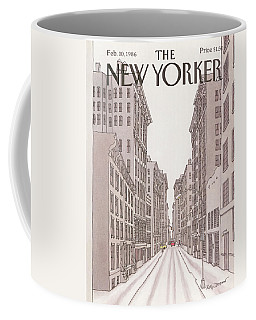 New Yorker February 10th, 1986 Coffee Mug