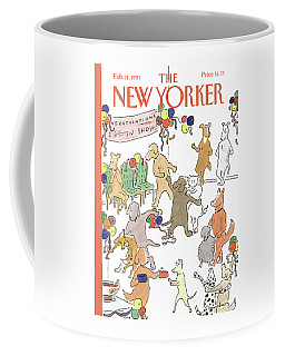 New Yorker February 11th, 1991 Coffee Mug