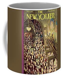 New Yorker February 16th, 1957 Coffee Mug