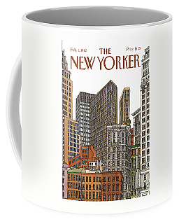 New Yorker February 1st, 1982 Coffee Mug