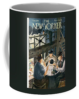 New Yorker February 7th, 1948 Coffee Mug