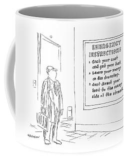 New Yorker January 10th, 1977 Coffee Mug