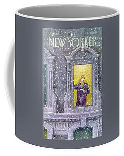 New Yorker January 12th, 1976 Coffee Mug