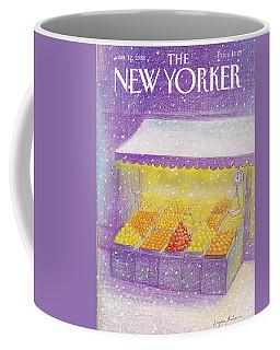 New Yorker January 12th, 1981 Coffee Mug