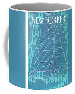 New Yorker January 13th, 1962 Coffee Mug