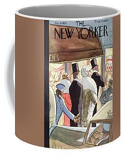 New Yorker January 14th, 1933 Coffee Mug