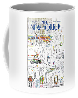 New Yorker January 16th, 1971 Coffee Mug