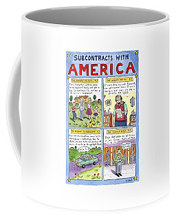 New Yorker January 16th, 1995 Coffee Mug