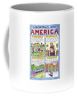 New Yorker January 16th, 1995 Coffee Mug