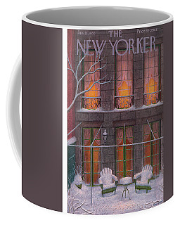 New Yorker January 21st, 1956 Coffee Mug