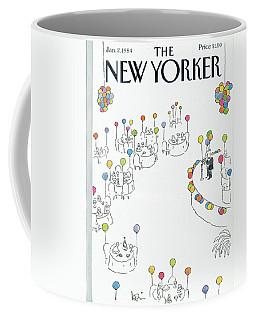 New Yorker January 2nd, 1984 Coffee Mug