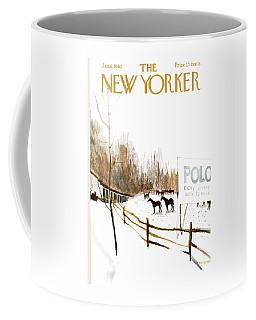 New Yorker January 6th, 1962 Coffee Mug
